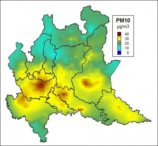 LNews-SMOG, CATTANEO REPLICA A ISPRA: PM10 IN LOMBARDIA INFERIORE A MEDIA EUROPEA