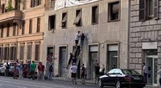 Raggi: 'Vittoria per la città' Roma: Casapound, ordinato lo sgombero della sede occupata all'Esquilino