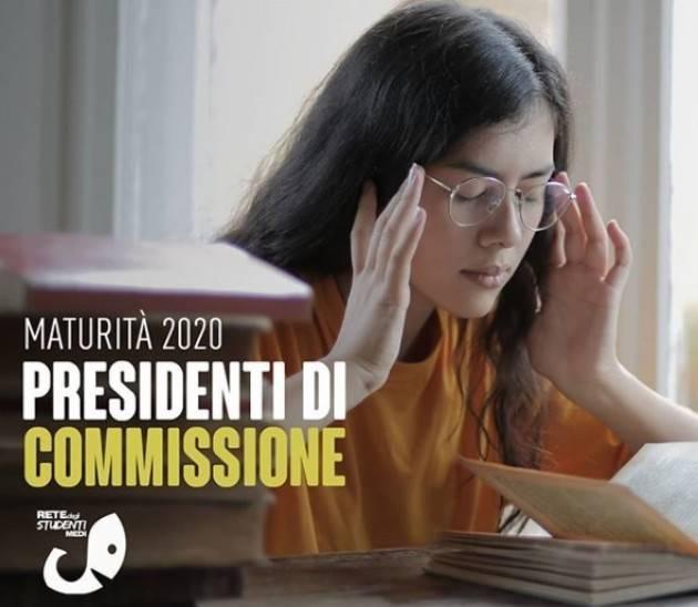 Maturità 2020 Presidenti di commissione | rete degli studenti