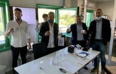 Coldiretti Cremona: L'assessore regionale Rolfi in visita all'azienda agricola Eredi Carioni