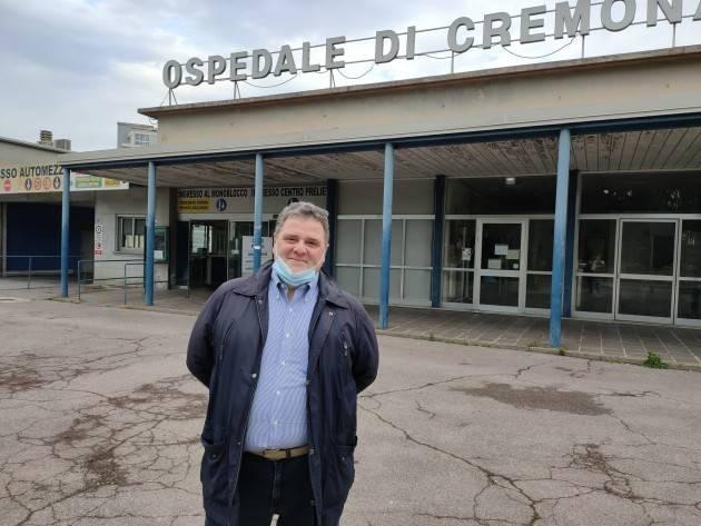 Carlo Malvezzi (Forza italia): Cremona si 'merita' un nuovo Ospedale (Video G.C.Storti)