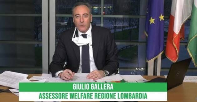 LNews-SANITA', ASSESSORE GALLERA sostituisce  Cajazzo con Trivelli alla Direzione Generale Welfare