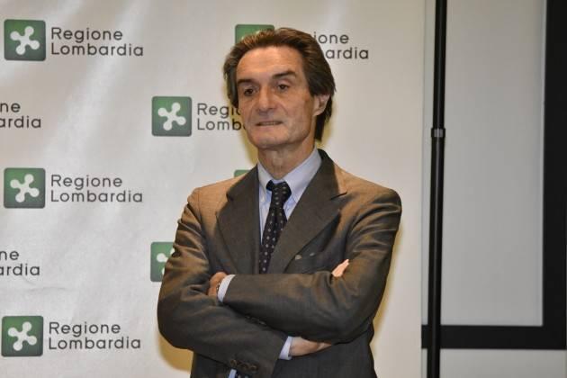 Lnews  FONTANA: CAJAZZO SARA' AL MIO FIANCO PER L'EVOLUZIONE RIFORMA SANITARIA, BUON LAVORO A TRIVELLI