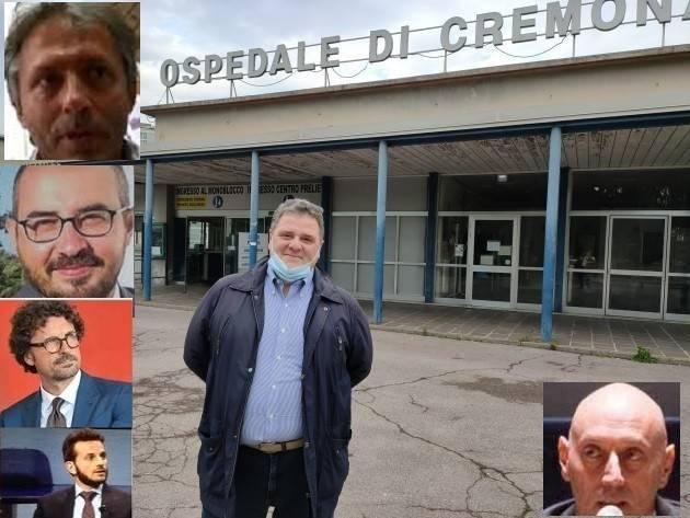 Nuovo Ospedale a Cremona La proposta di Malvezzi (F.I.) non trova molti consensi in rete Nel PD opinioni diverse fra Virgilio e Soldo. M5S NO secco