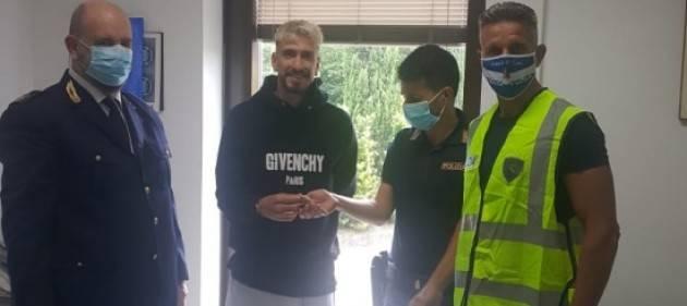 Recuperato orologio rubato al giocatore del Milan Castillejo Samu
