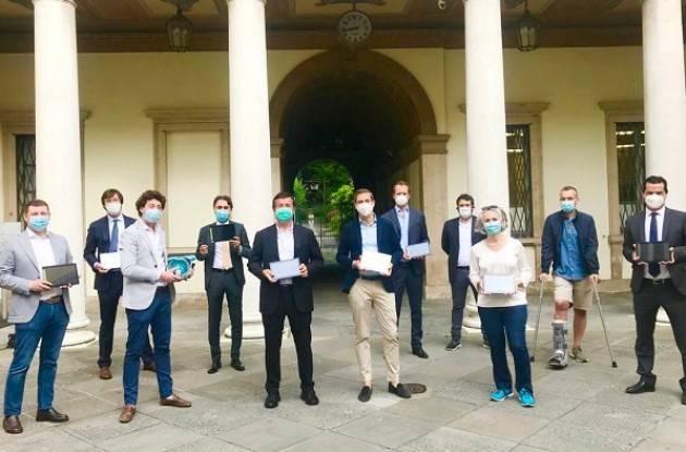 Bergamo, didattica a distanza: consegnati oggi altri 100 tablet del progetto Tuttinrete