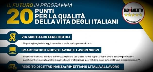 Il M5S ha sconfessato molte delle sue promesse elettorali | Elia Sciacca (Cremona)