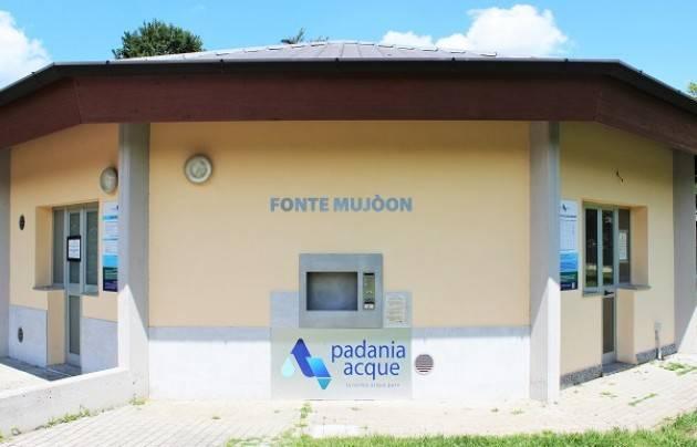 Padania Acque: riapertura case dell'acqua a Castelverde e Cremona