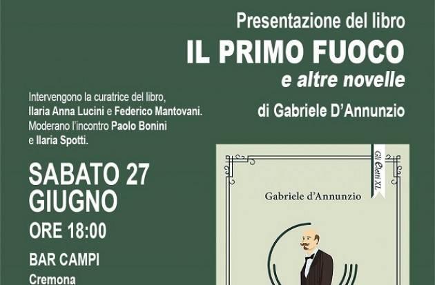 Libreria Convegno Cremona : Sabato 27 'Il primo fuoco ed altre novelle'- Domenica 28 anteprima Poetry Festival