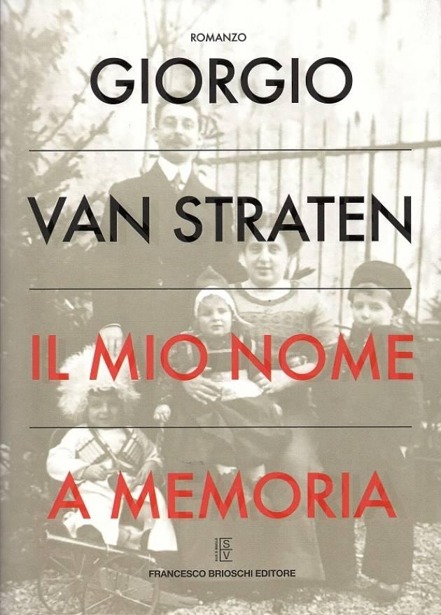 Libreria Cremasca Presentazione libro: Giorgio Van Straten, Il mio nome a memoria Ospite: Giorgio Van Straten