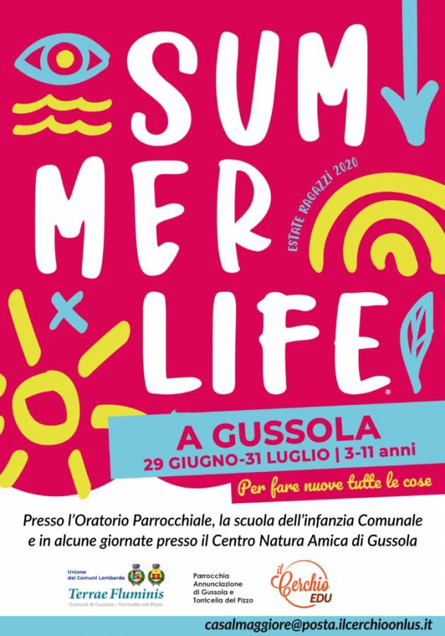 Gussola Stefano Belli Franzini Partono i centri estivi dal 29 giugno