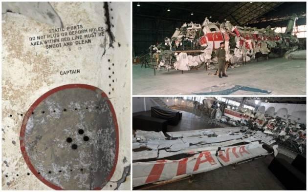 CNDDU Commemorazione Strage di Ustica del 27 giugno 2980 dove persero la vita 81 persone di cui 13 bambini