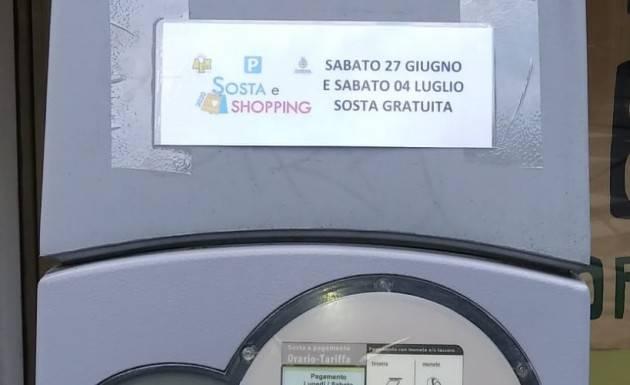 Cremona Oggi 27 giugno  primo sabato di sosta gratuita negli stalli blu gestiti da AEM S.p.A.