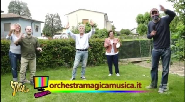 Castelleone MagicaMusica conquista il pubblico di Striscia la notizia