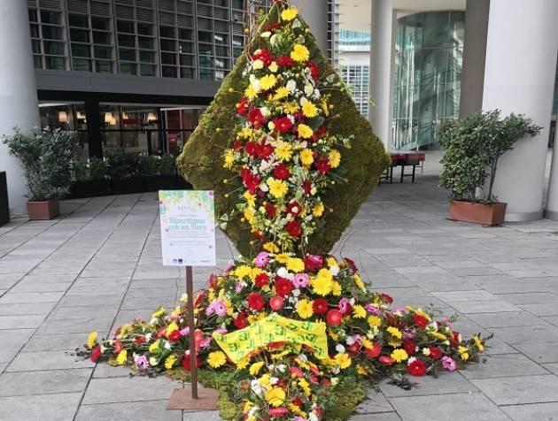 Coronavirus, crisi florovivaismo: a Milano fiori italiani in piazza