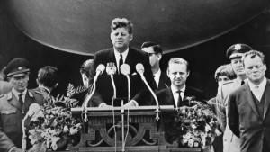 CNDDU 'Ich bin ein Berliner' 26 /06/1963 -2020 La frase famosa di J.F. Kennedy