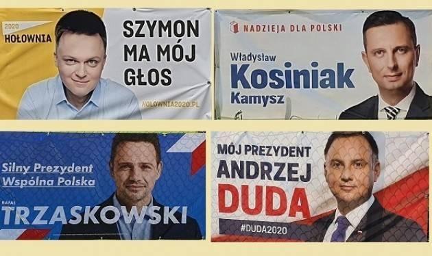 LnM Elezioni Polonia: Un'affluenza record porta Trzaskowski ad insidiare Duda  Matteo Cazzulani, Cracovia Polonia
