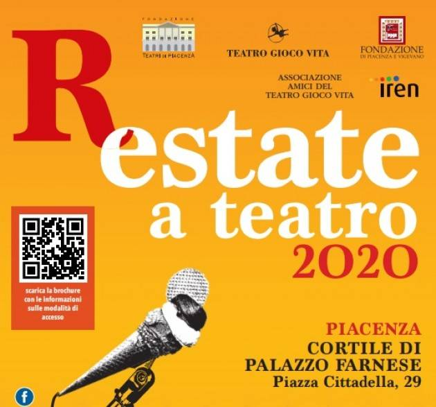 R-ESTATE A TEATRO Stagione estiva in  PIACENZA Cortile di Palazzo Farnese
