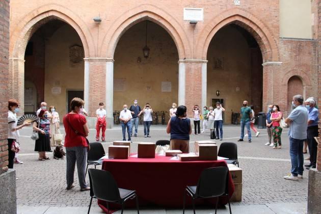 Donazione del Centro Internazionale del Libro Parlato alla città di Cremona