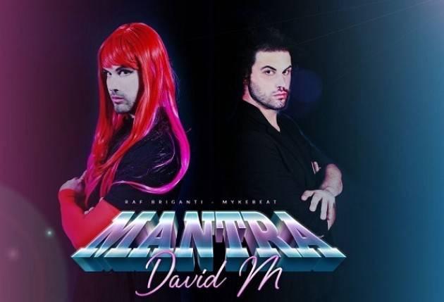 Mantra di David M: sigla Pride Italia conta gia 1000 visualizzazioni su Youtube in poche ore