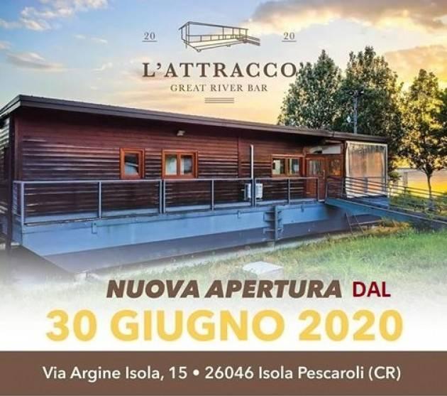 Inaugurato il nuovo attracco a Isola Pescaroli (San Daniele PO).Soddisfatto il sindaco Davide Persico
