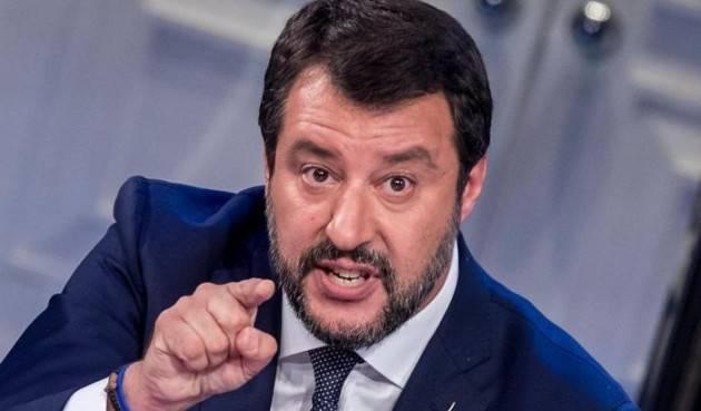 Salvini: ''Sbarco Ocean Viking? Uno schifo, il tutto a spese degli italiani''