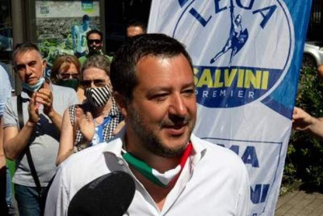 Salvini: ''ondono tombale o non si riparte più''