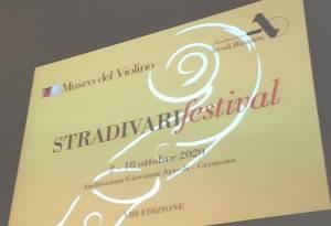 Cremona MDV STRADIVARIfestival 2020 venerdì 2 – domenica 18 ottobre 2020  (Video)