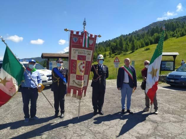 Il Comune di Cremona presente all'anniversario dell'eccidio del Colle del Lys