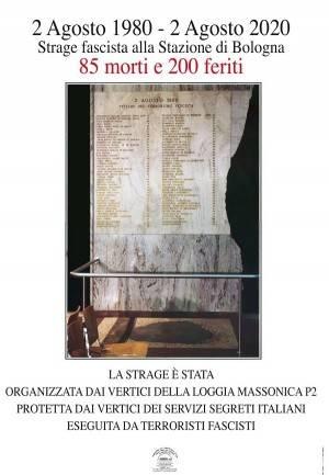 Il manifesto 2 agosto 1980-2 agosto 2020 Strage fascista alla stazione di Bologna