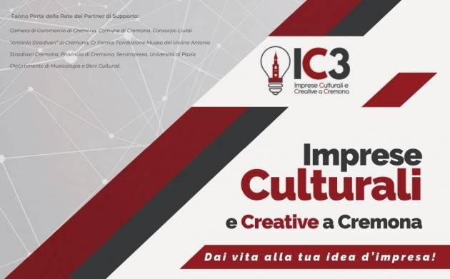 Progetto 'IC3: Imprese Culturali e Creative a Cremona' - Iscrizioni aperte