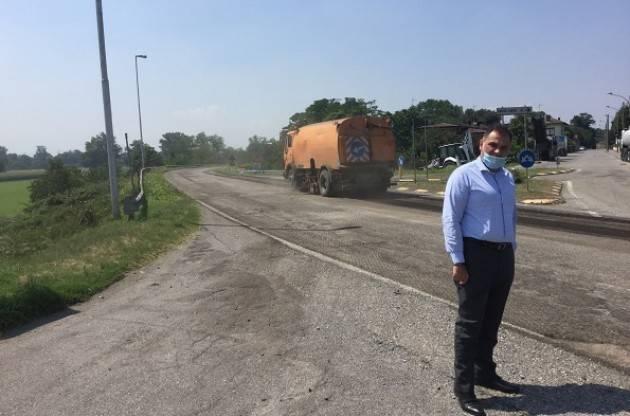 Cremona  Signoroni: 'Parte un primo lotto di oltre 800.000 euro per interventi sulla rete stradale
