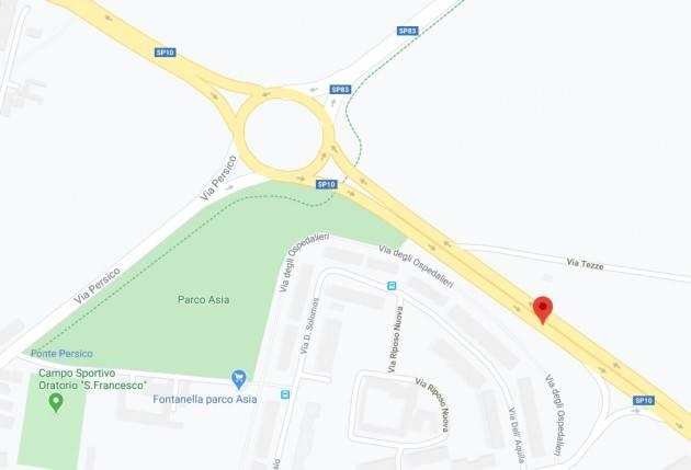 Cremona Asfaltature in via Zaist, Nazario Sauro e rotatoria Zaist-Persico