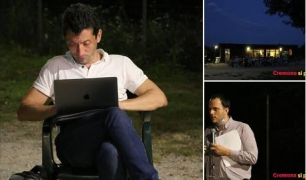 Gianluca Galimberti : Economia circolare e mobilità sostenibile Se ne è parlato al camping di Cremona (video)