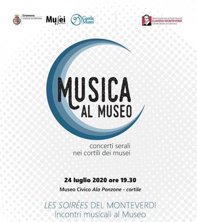 Cremona Concerto per violino e pianoforte il 24 luglio nel cortile di Palazzo Affaitati