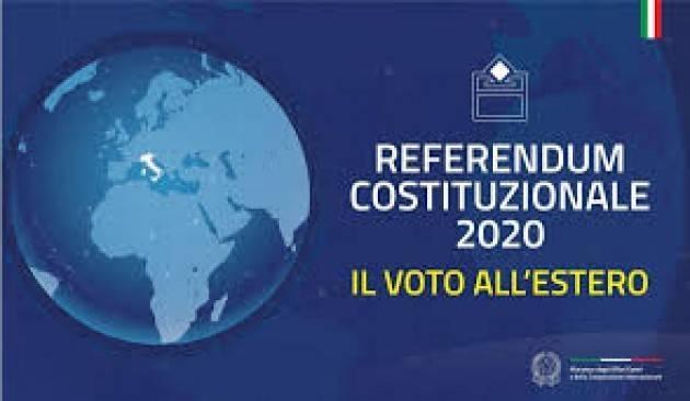 LnM Referendum costituzionale 2020  del 20-21 settembre. Le modalità di voto per i cittadini italiani all'estero