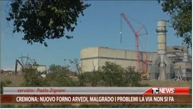 Cremona. Forno Arvedi, nonostante i problemi la VIA non si fa | Paolo Zignani (Video)