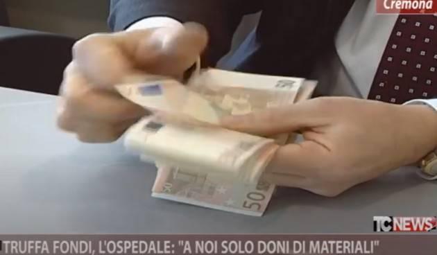 UNITI PER CREMONA Truffa fondi, l'ospedale: 'A noi solo doni di materiali' (video)