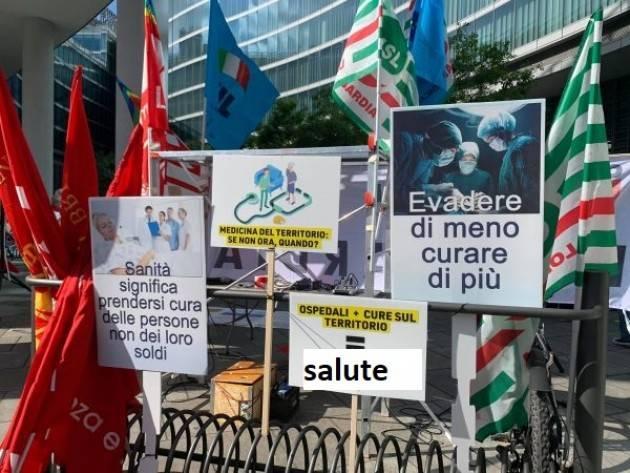 #DopoCovid In Abruzzo, sindacati dei pensionati in piazza per la sanità sul territorio