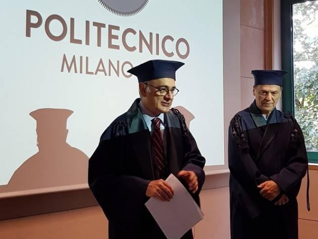 Oggi al Campus di Cremona del Politecnico di Milano sessione di laurea online