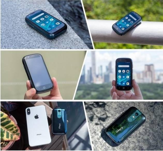 Zeus Lo smartphone 4G con Android 10 più piccolo al mondo