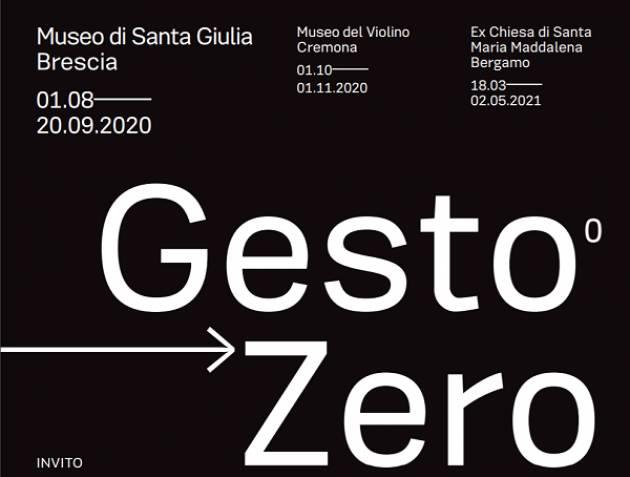 GestoZero. Istantanee 2020: mostra fotografica itinerante tra Brescia, Cremona e Bergamo