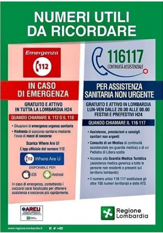 LnM Sanità Lombarda Hai bisogno di prestazioni sanitarie non urgenti? Chiama il n. 116117