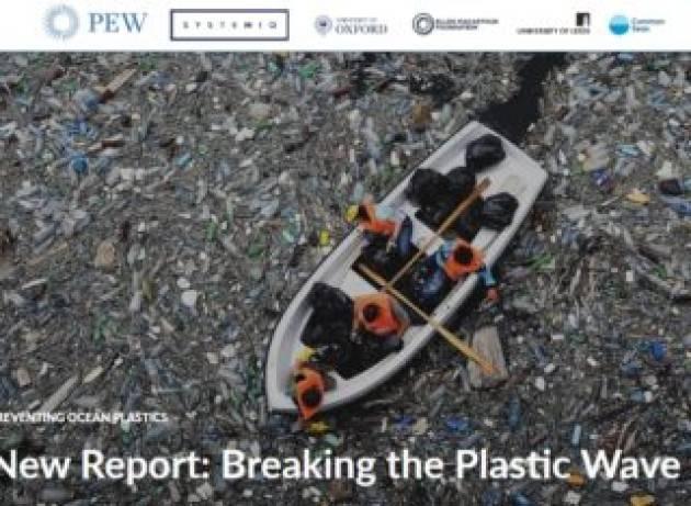 Nel 2040 la plastica negli oceani potrebbe triplicare o essere ridotta dell'80%, dipende dalle scelte che faremo