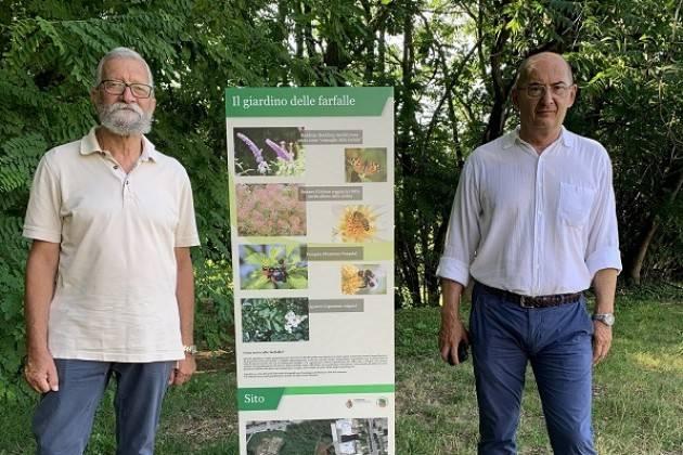 """Prosegue la valorizzazione del """"Giardino delle farfalle"""", spazio verde in via Portinari del Po"""