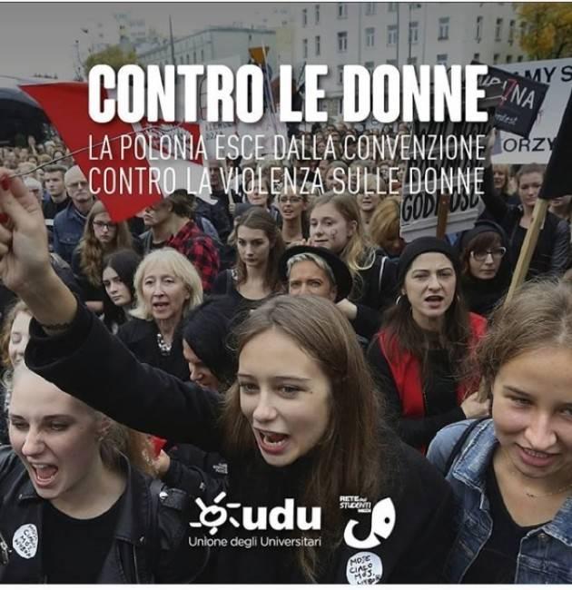 Le donne polacche in piazza contro governo che è uscito Convenzione Istanbul | Rete degli Studenti