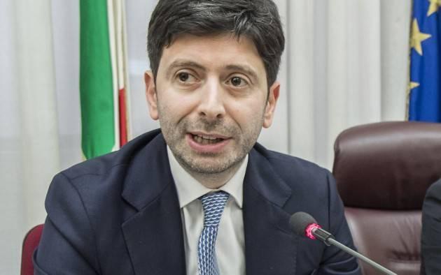 Il ministro Speranza ricorda a Salvini le 3 regole anti Covid-19