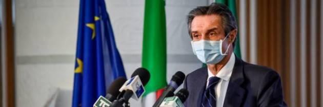 Fontana: 'Non mi dimetto. Ho agito in emergenza, la Regione non ha pagato''