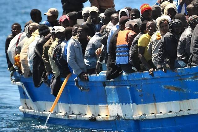 Sbarcati 314 migranti