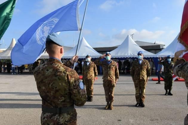 Missione in Libano UNIFIL: cambio al Sector West